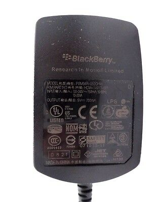 GENUINE BLACKBERRY PSM04R-050CHW AC/DC ADAPTER 5V 700mA HDW-14917-001
