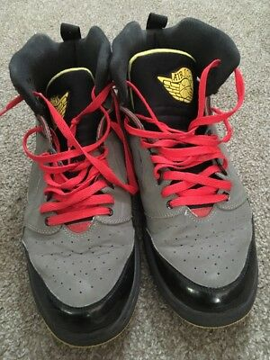 online store 4e09b 3dca5 Nike Air Jordan Sixty Club Black Red Gray Yellow Men s Sneakers Size 11.5