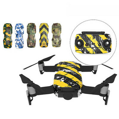 Waterproof 3M PVC 3D Stickers Decal Skin Cover Protector For DJI Mavic Air Drone