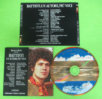 CD Compilation LUCIO BATTISTI UN AUTORE PIU' VOCI Rokes Dik no lp mc dvd (C26)