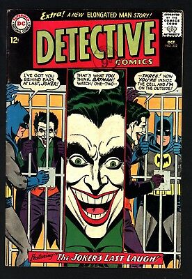 Detective Comics #332 -  Joker Cover/story Original Owner Glossy + White Pages
