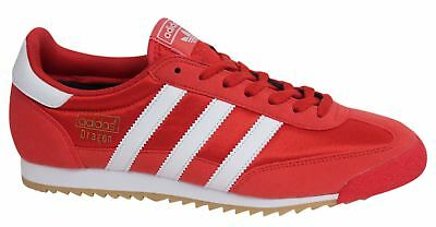 Adidas Originals Dragon Lace Up Red Textile Synthetic Mens Trainers BB1267 D130
