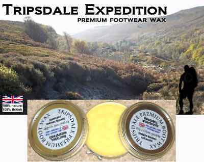 TRIPSDALE EXPEDITION TECHNICAL WAX -  A BOOT'S BEST FRIEND waterproofing