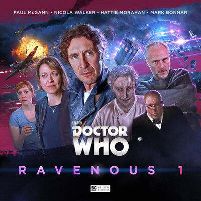 Doctor Who CD box set RAVENOUS Eighth Doctor Paul McGann Big Finish NEW, SEALED