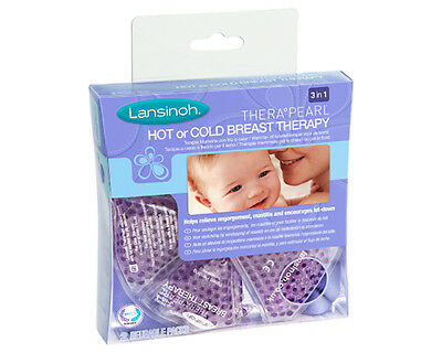 Lansinoh Thera-Pearl - Hot or Cold Breast Therapy - Pack of 2