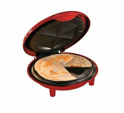 Brentwood Appliances TS-120 Quesadilla Maker. Red (ts120)