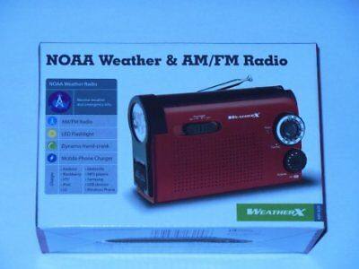 Dpi, Inc WR182R Weatherx Weatherband Am/fm Portable Radio W/ Utility Light
