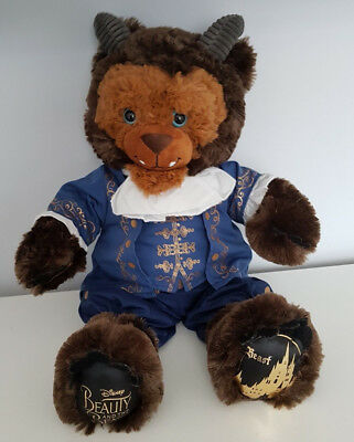 Build A Bear Disney Beauty And The Beast: Beast + Ballroom Outfit + Rose Bnwt's