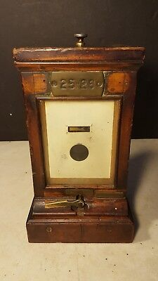 Antique Walters &  Co London Circa 1900's Battery Electric On Off Switch Devise