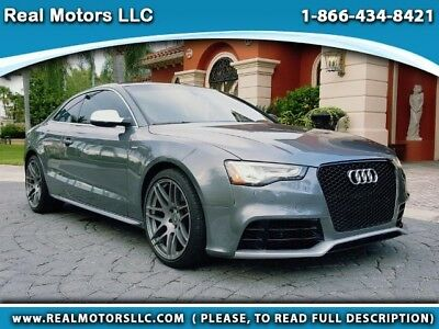 """2013 Audi S5 3.0T Quattro Supercharged Premium Plus (S Tronic) 2013 Audi S5 """"Audi Care Service Performed"""" Financing Available (call in advance)"""