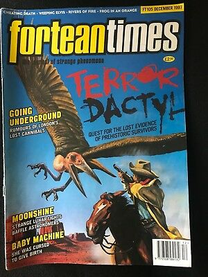 Fortean Times collectible back issues - Dec 1997 - FT105 - FREE P&P