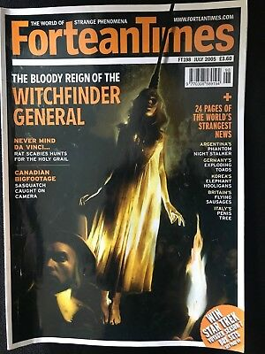 Fortean Times collectible back issues - July 2005 - FT198 - FREE P&P