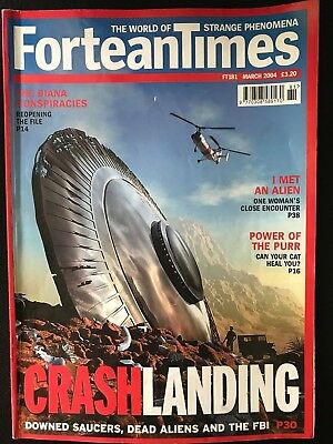 Fortean Times collectible back issues - March 2004 - FT181 - FREE P&P