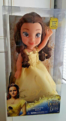 Disney Beauty And The Beast Ballroom Belle Toddler Doll Brand New In Box