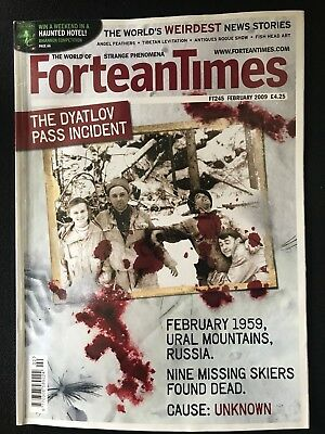 Fortean Times collectible back issues - Feb 2009 - FT245 - FREE P&P