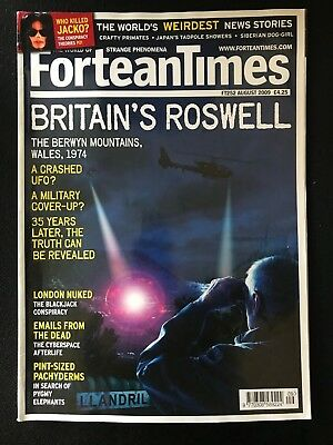 Fortean Times collectible back issues - Aug 2009 - FT252 - FREE P&P