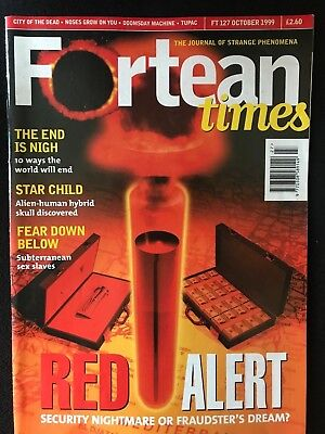 Fortean Times collectible back issues - Oct 1999 - FT127 - FREE P&P