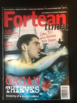 Fortean Times collectible back issues - Sept 2000 - FT138 - FREE P&P