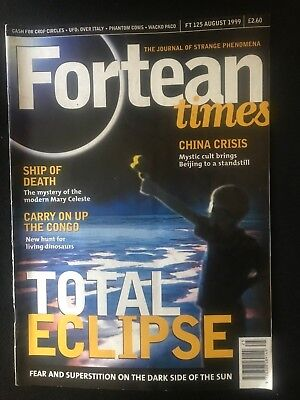 Fortean Times collectible back issues - Aug 1999 - FT125 - FREE P&P