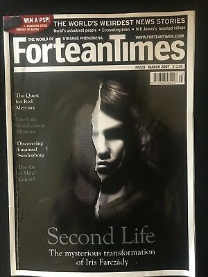 Fortean Times collectible back issues - March 2007 - FT220 - FREE P&P