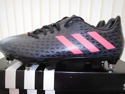 New,  Adidas  Malice  Sg  Rugby  Boots   Mens  U.k.  Size  7