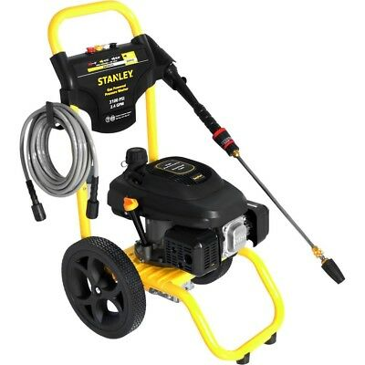Stanley 2.4 GPM 3100 PSI Gas Power Portable High Pressure Washer Surface Cleaner