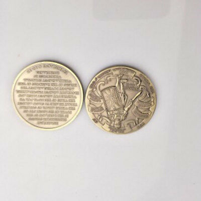 Helmet Of Salvation Put On The Whole Armor Of God Commemorative Coin Collection