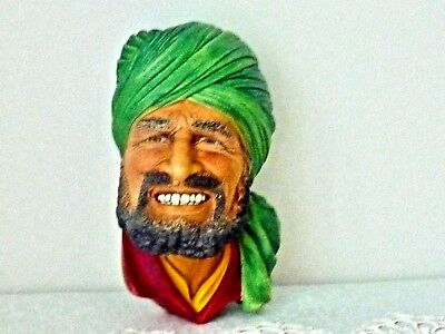 Beautiful Collectable Vintage Chalk Head Bossons ''  Punjabi''england C 1964