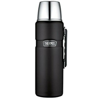 Thermos Stainless King Vacuum Insulated Beverage Bottle - Black - 2L