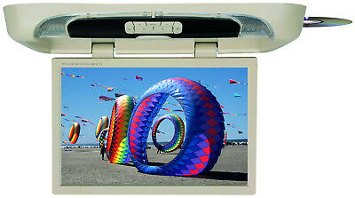 """Tview T20DVFDTAN 20"""" Flip Down Monitor With Built In Dvd Player Tan"""