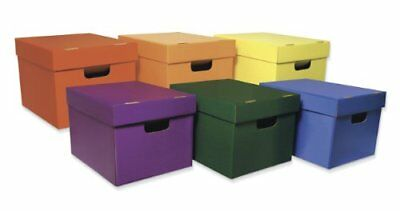 """Classroom Keepers Storage Tote Assortment - Stackable - 10.1"""" Height (pac001333)"""