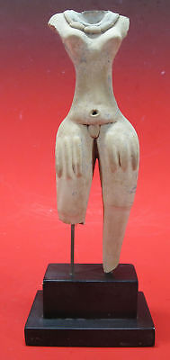 Pre-Columbian Style Standing Goddess Af Colima Jalisco, Mexico ca 400 CE #12 yqz