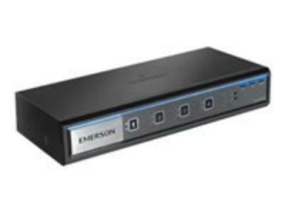 Avocent Sv340h Kvm Switch - 4 Computer[s] - 1 Local User[s] - 3840 X 2160 - 13 X