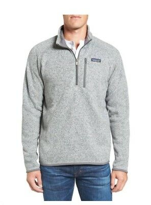 Patagonia Mens Better Sweater 14 Zip 25522 In Stonewash Nwt Sz S
