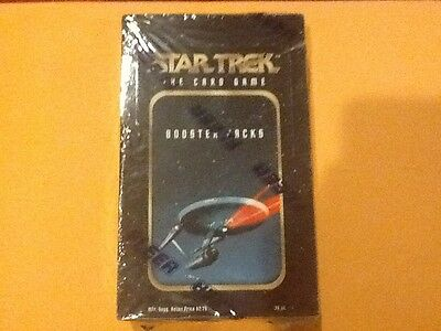 1996 Fleer / Skybox Star Trek The Card Game Booster Box FACTORY SEALED 36 PACK