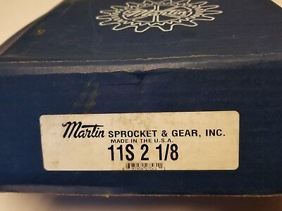 Martin Quadraflex Coupling And Flange 11 S 2 1/8