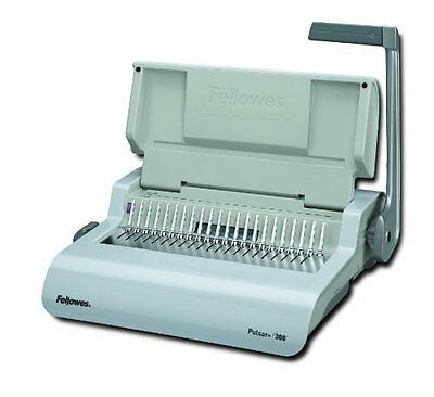 Fellowes Pulsar+ 300 Manual Comb Binding Machine - Manual - Combbind - (5006801)