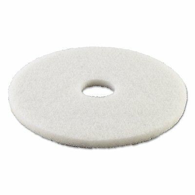 Boardwalk 4016WHI Standard 16-inch Diameter Polishing Floor Pads, White