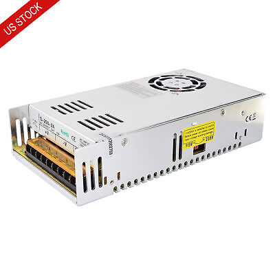 250W 24V 10A 115/230V Switching Power Supply for Stepper Motor CNC Router Kits