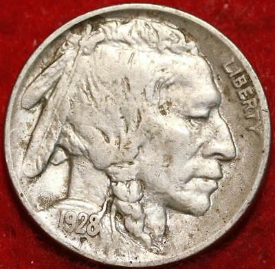 1928 Philadelphia Mint Buffalo Nickel
