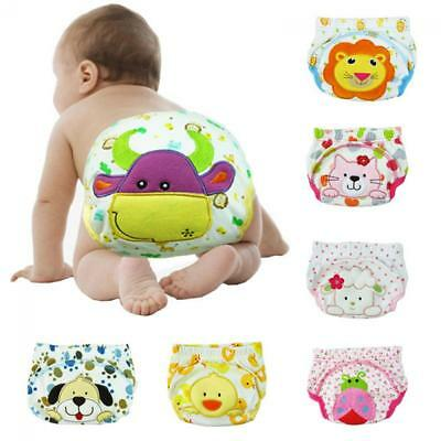 Boy Pee Cover Toilet Underwear Training Pants Baby Cloth Diaper