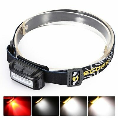 Nitecore NU10 160LM 170° USB Chargeable Headlamp White Red LED Light Source