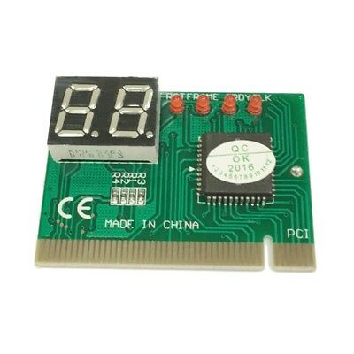 PCI PC Diagnostic 2-Digit Card Motherboard Post Tester Analyz Checker Laptop EW