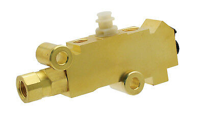 PV2T Replaces GM #25509419 Disc/Drum Combo Proportioning Valve - Brass