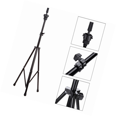 Adjustable Head Stand Tripod Holder Mannequin Tripod for Hairdressing Training