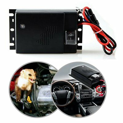 Car Vehicle Ultrasonic Mouse Rodent Pest Animal Repeller Deterrent Automobile