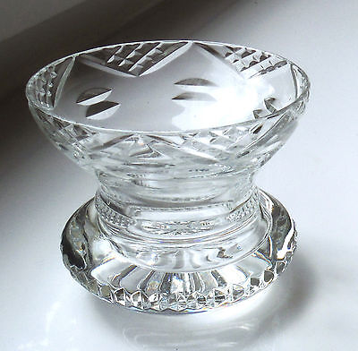 Cut Glass Posy Vase - Superb Shape - Great Quality    *