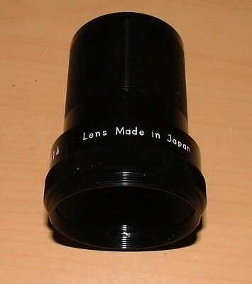 ELF EIKI 38mm PROJECTOR LENS FOR 16mm PROJECTOR - IMMACULATE