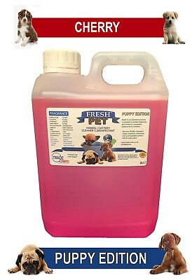 Fresh Pet Pet Disinfectant Cleaner Puppy Edition - 2L Cherry