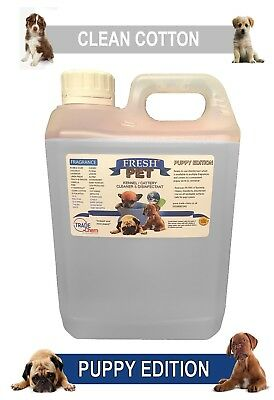 Fresh Pet Pet Disinfectant Cleaner Puppy Edition - 2L Clean Cotton